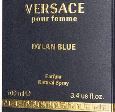 Perfume Versace Pour Femme Dylan Blue 100ml